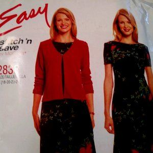 McCall's Dress/Jacket Sewing Pattern Sizes 18-24
